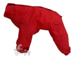 Impermeable completo para perros Canazei - Rojo